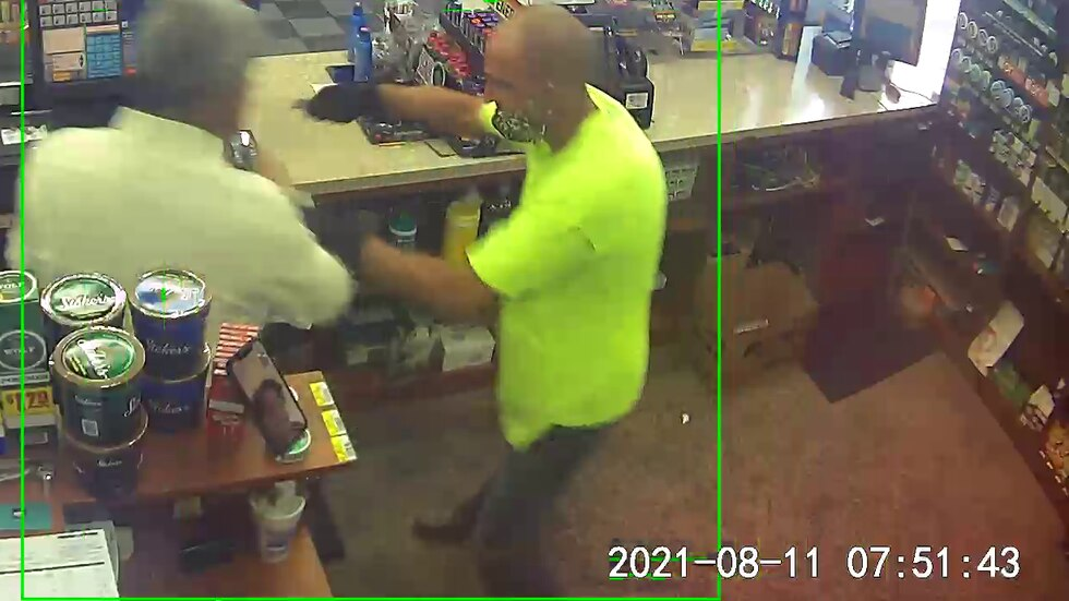 Police are searching for a suspect involved in a stabbing that happened at the VP gas station...