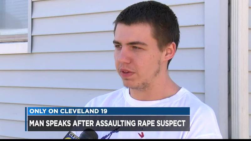 Ohio man speaks out after assaulting rape suspect