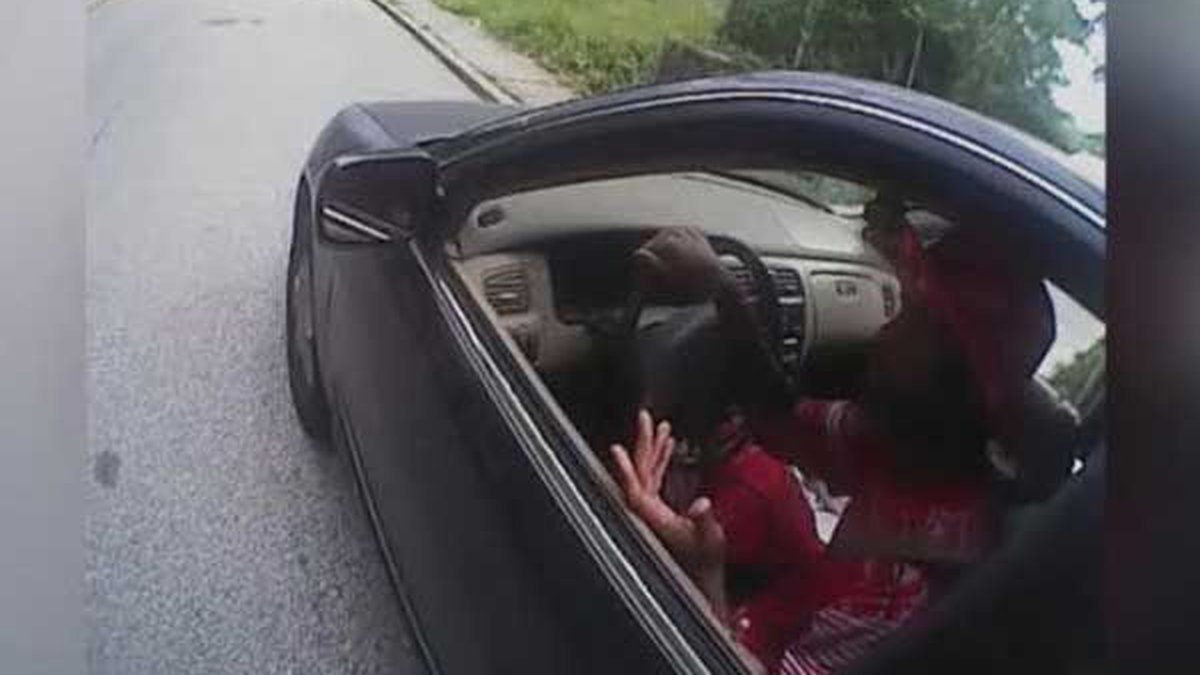 Sam DuBose in his car minutes before he was fatally shot on July 19, 2015. (FOX19 NOW/file)
