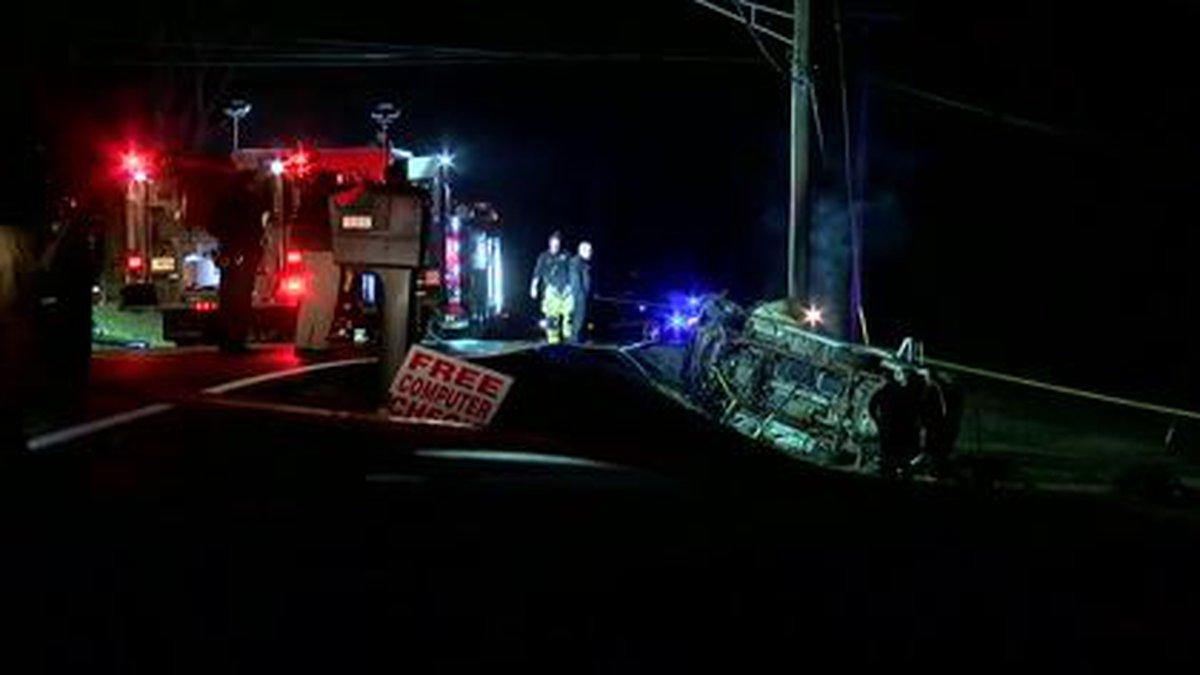 A fatal car crash in Independence, Ky.