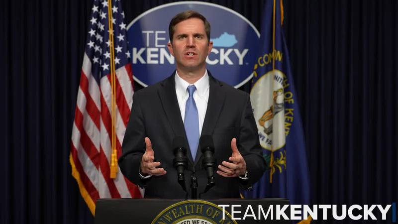 Gov. Beshear says COVID data shows decline in Kentucky