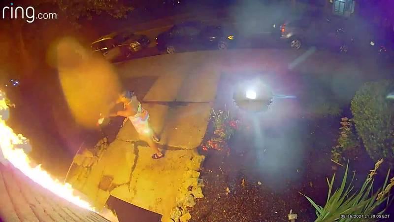 Cincinnati Fire Department trying to identify arson suspect