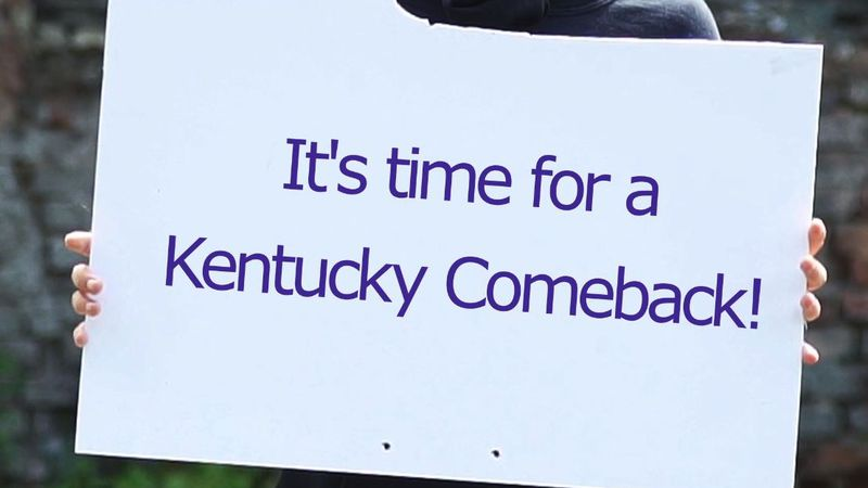 """The mission of """"Kentucky Comeback: Hope, Healing, and a Fair Chance"""" is to build a broad-based..."""