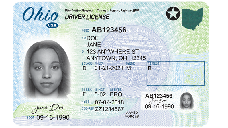 The requirements to obtain the new Ohio ID, required by the TSA to travel, is harder to obtain...