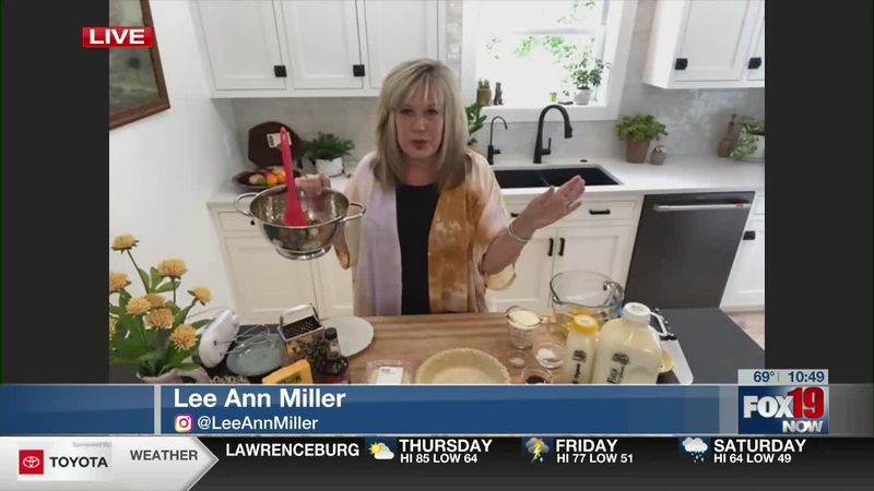 Sausage and Cheddar Quiche with Lee Ann Miller - clipped version