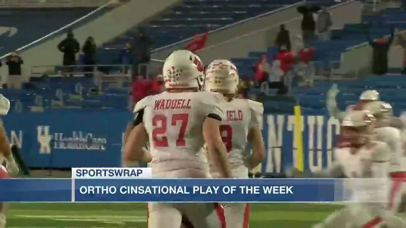 OrthoCinsational Play of the Week - Brady Moore