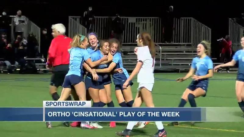 Ortho Cinsational play of the week - MND's Emma Frey