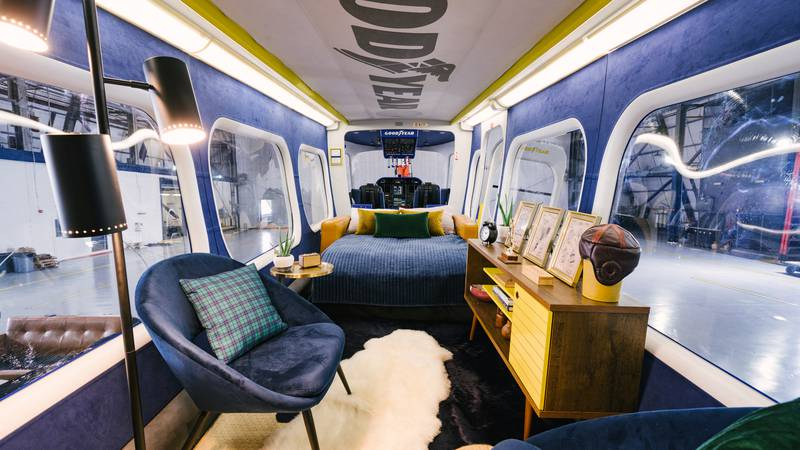 For three nights only, the Goodyear Blimp will be available for rent on Airbnb.