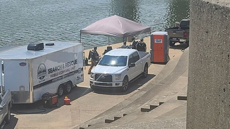 Christian Aid Ministries is on the river to search for the body of 3-year-old Nylo Lattimore.