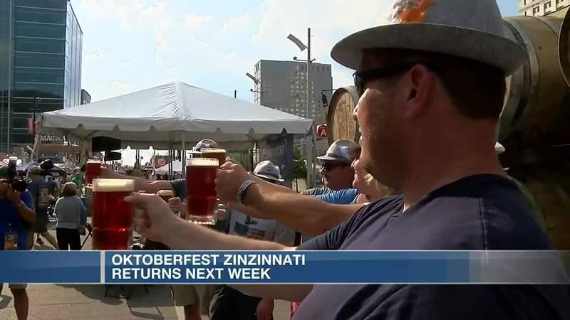 Oktoberfest Zinzinnati adds extra day to become world's largest Oktoberfest for 2021