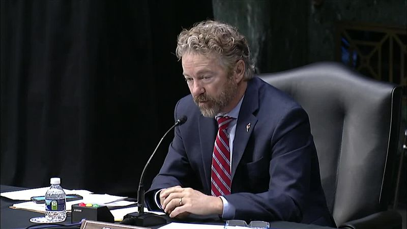 Sen. Rand Paul, R-Ky., questions the guidance on schools, saying Dr. Anthony Fauci is not the...