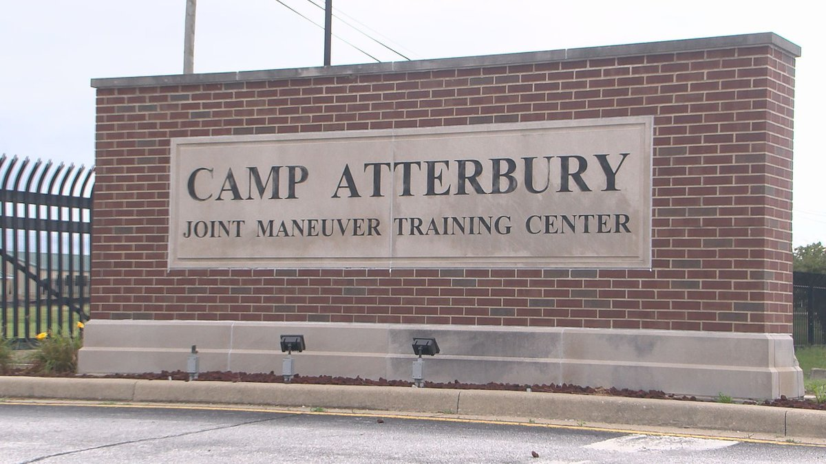 Camp Atterbury, located near Edinburgh, Indiana, will serve as a as a site to temporarily house...