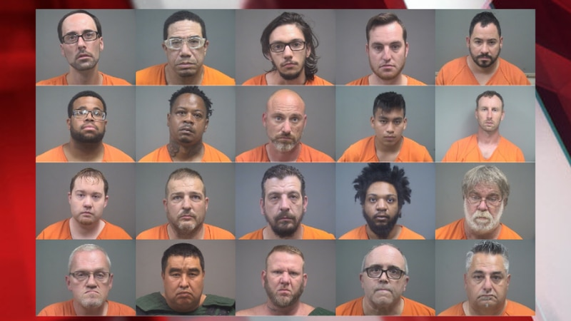 20 men arrested during Mahoning Valley trafficking sting