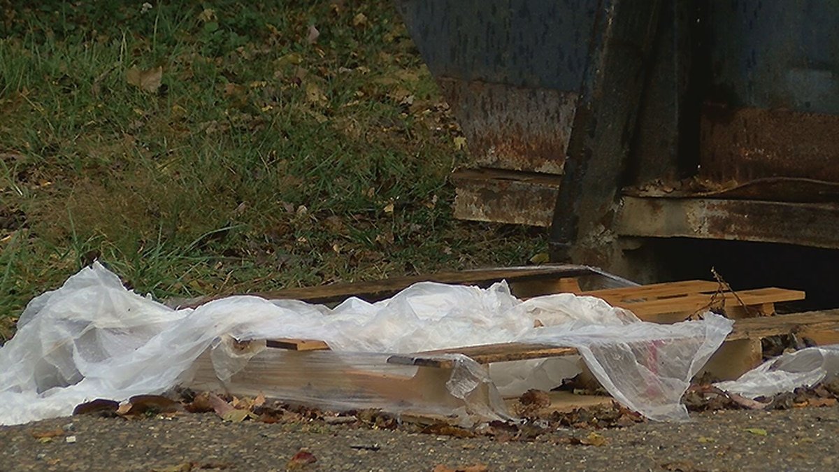 A person found a pile of discarded USPS mail, including 112 absentee ballots for the upcoming...