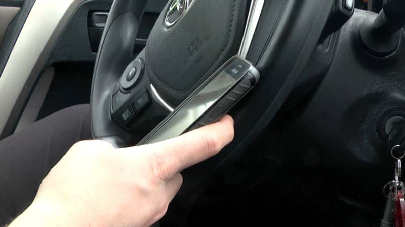 Police and driving experts say it's best to avoid distractions while behind the wheel.