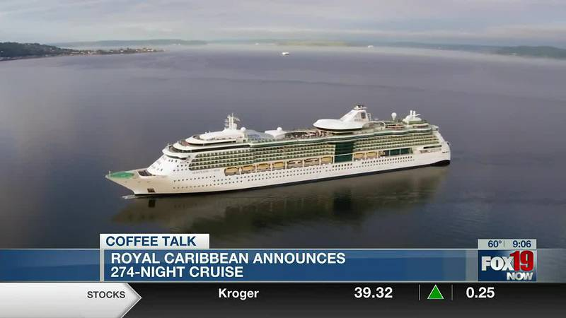 Coffee Talk - 274-Night Ultimate World Cruise, Bitcoin worth $66,000