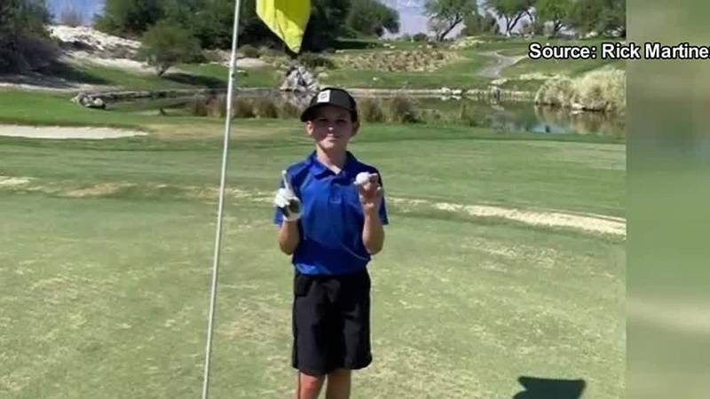 Jake Martinez competed this past weekend at the Palm Springs Open, a U.S. Kids Golf tournament....