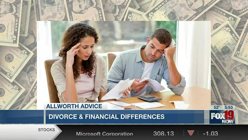 Allworth Advice: Divorce & financial differences