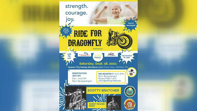 Ride for Dragonfly Fundraiser this weekend
