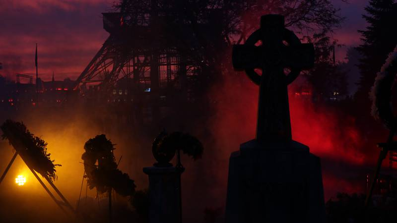 Halloween Haunt features haunted mazes, scare zones, live entertainment and more.