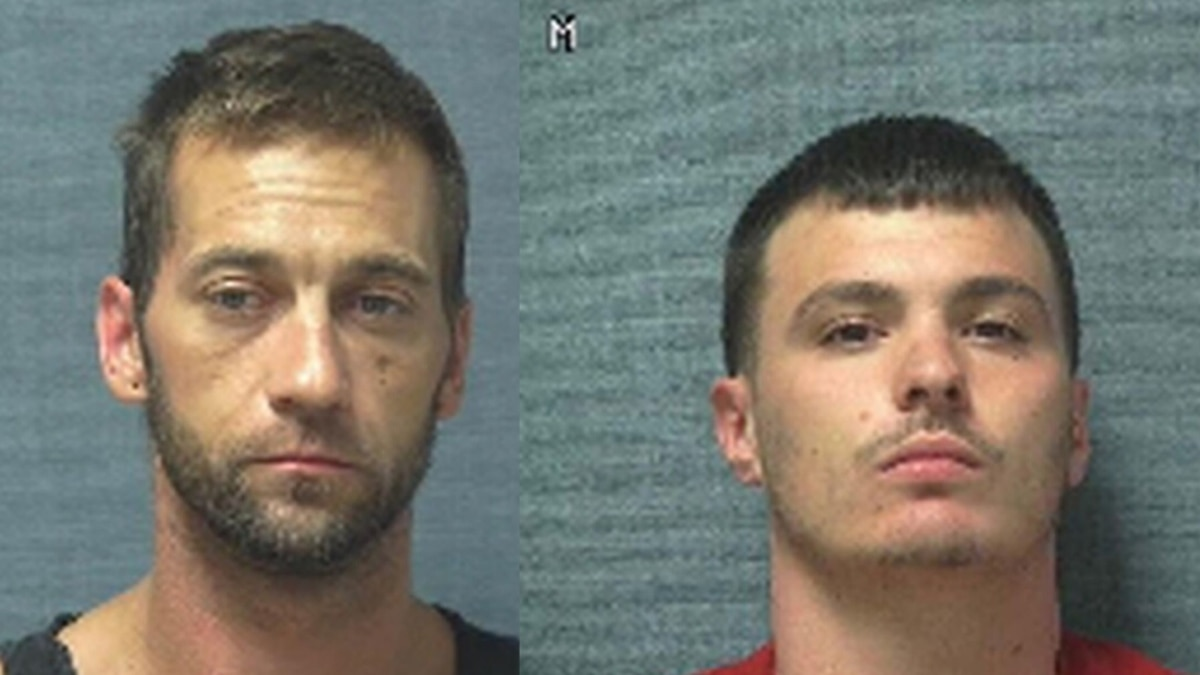 Jason Drake (left) and Vincent Blanc remain at large after escaping from a Stark County prison...