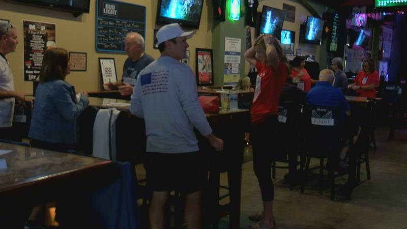 A Rose Lavelle watch party was held at a bar in Silverton Saturday.