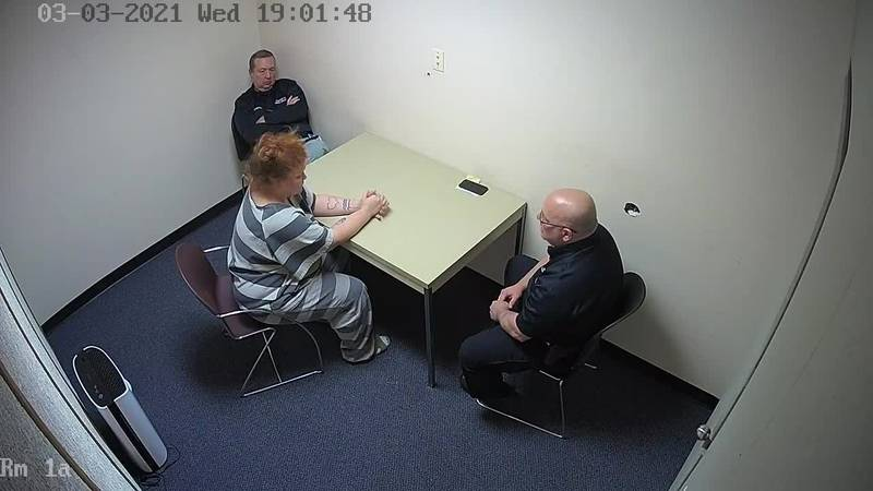 Brittany Gosney interrogation and polygraph test on March 3