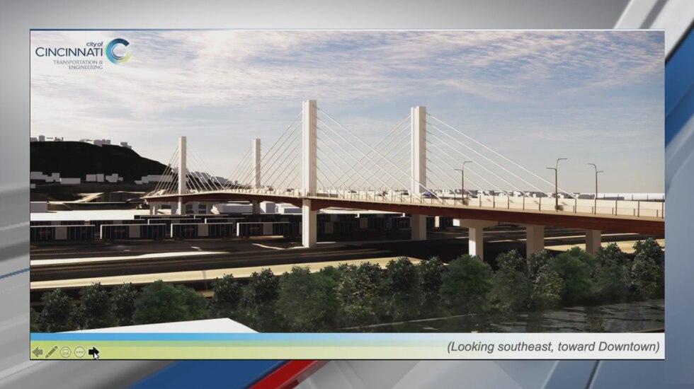 Western Hills Viaduct rendering.