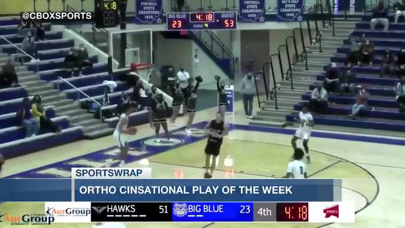 Ortho Cinsational Play of the Week: Nate Johnson
