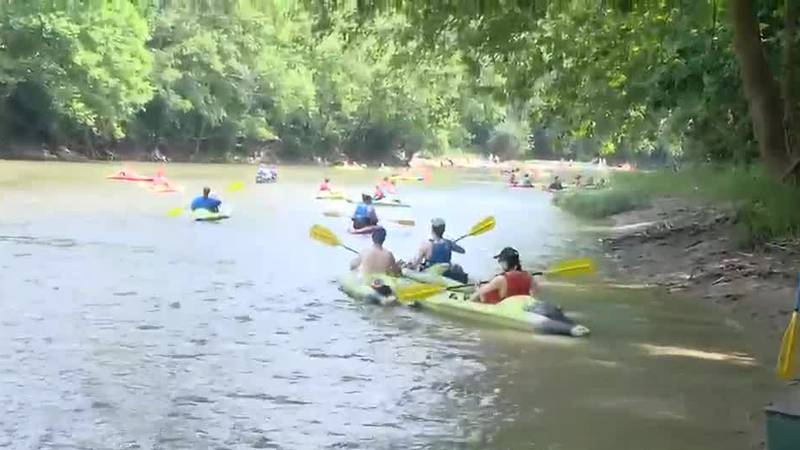 Paddling on the river safely begins with education, information
