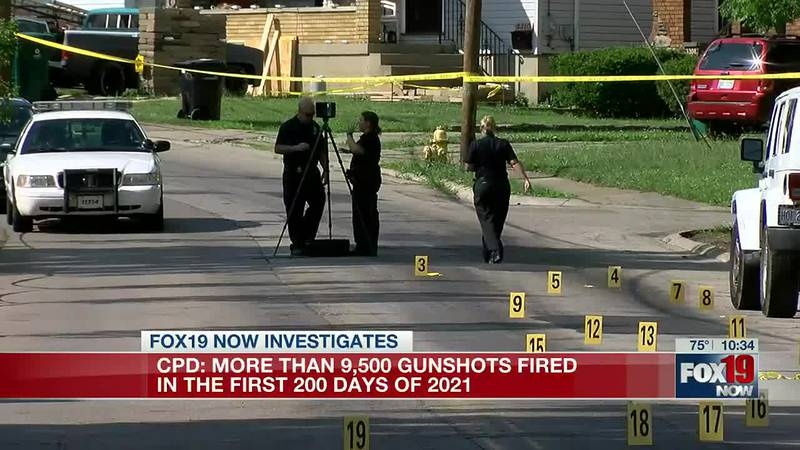 CPD: More than 9,500 gunshots fired in first 200 days of 2021
