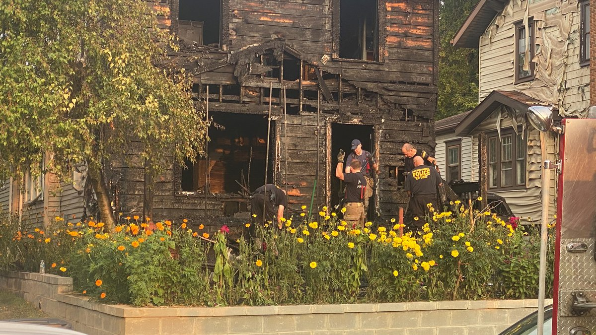 Five people, including three children, were killed in an Akron house fire.