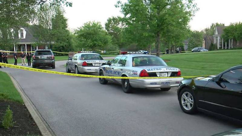 A man is injured and in the hospital following an officer-involved shooting on Ash Glen Road.