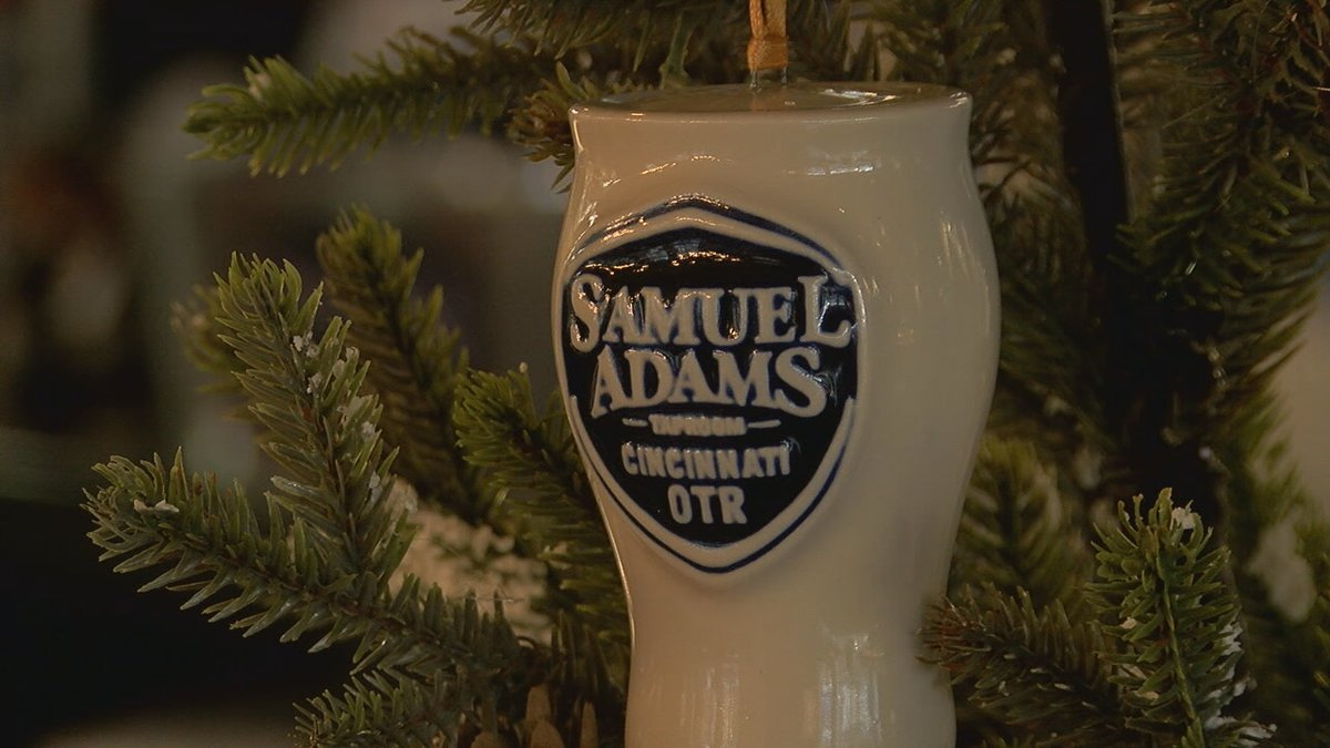 Rookwood Pottery and Sam Adams partner for new ornament