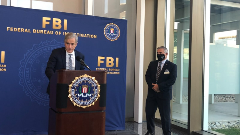 U.S. Attorney David DeVillers and FBI Special-Agent-in-Charge Chris Hoffman announce new...