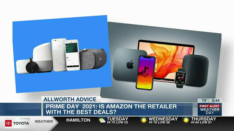 Allworth Advice: Prime Day 2021 - Is Amazing the retailer with the best deals