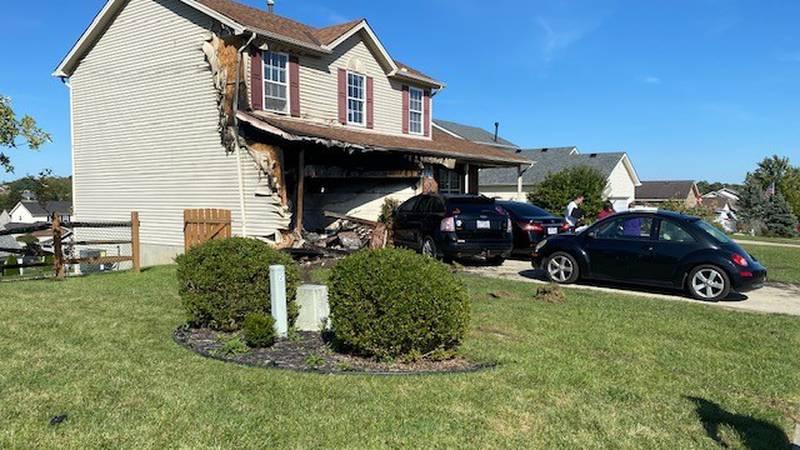 Police say the crash happened around 12:10 p.m.
