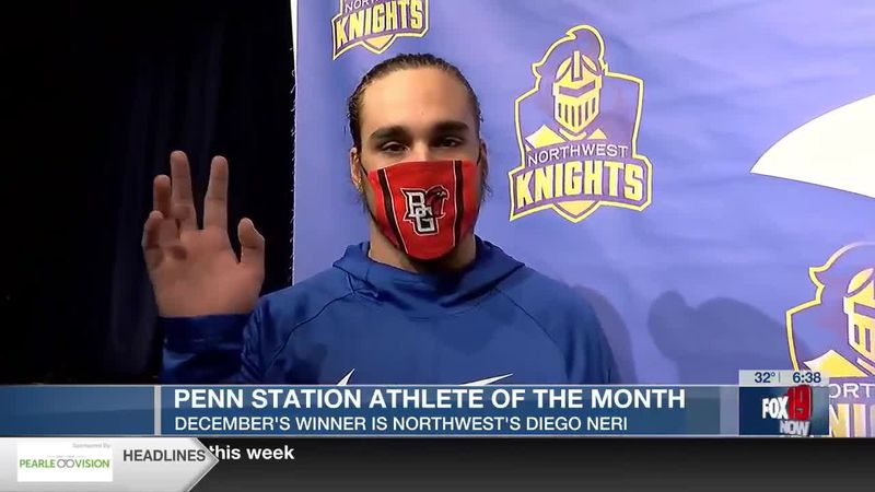 Penn Station December Athlete of the Month: Diego Neri