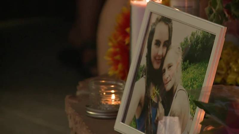 A father is seeking clues from the community after his daughter and her spouse were murdered...