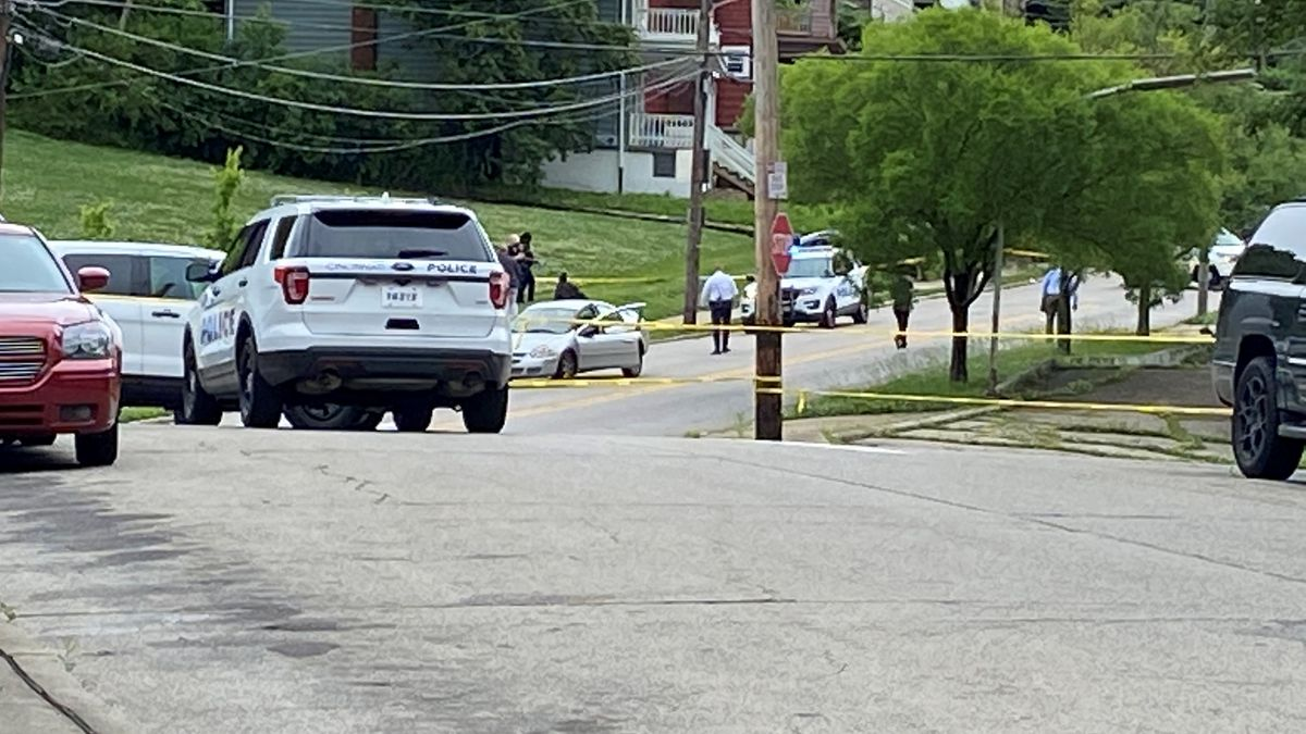 The victim died at the scene Thursday afternoon, according to police.