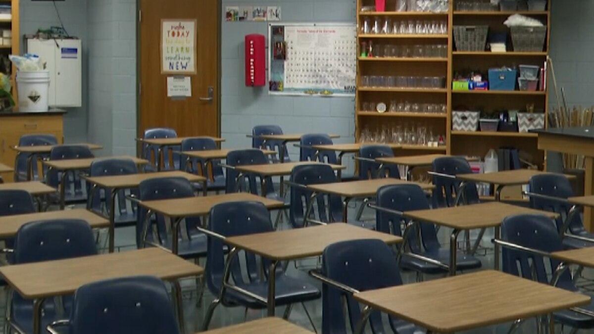 Any empty classroom