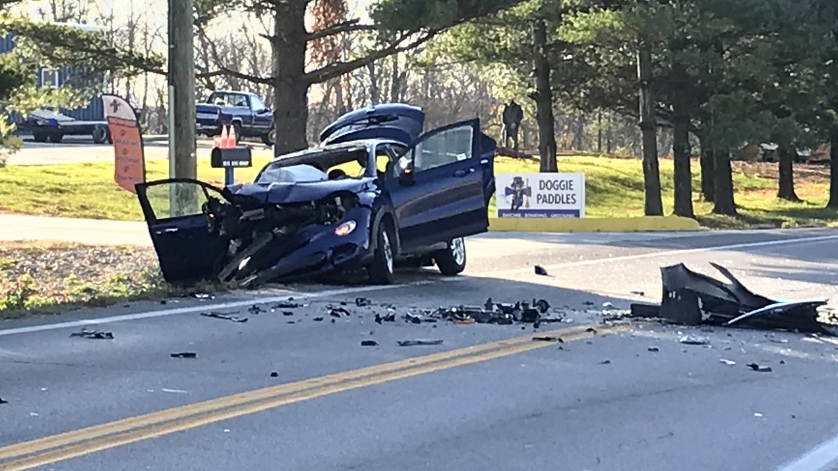 A 6-year-old boy and a woman were airlifted from the scene of a crash on Dixie Highway Friday...