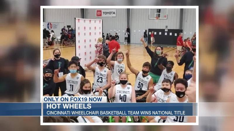 Cincinnati high school wheelchair team wins national title