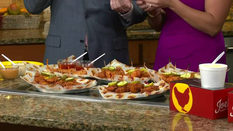 Joella's Hot Chicken - How much heat can you handle?