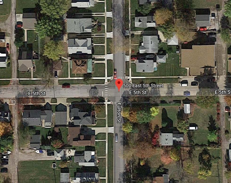 Harley Dilly's home is located in the 500 block of East 5th Street. Authorities are searching a...