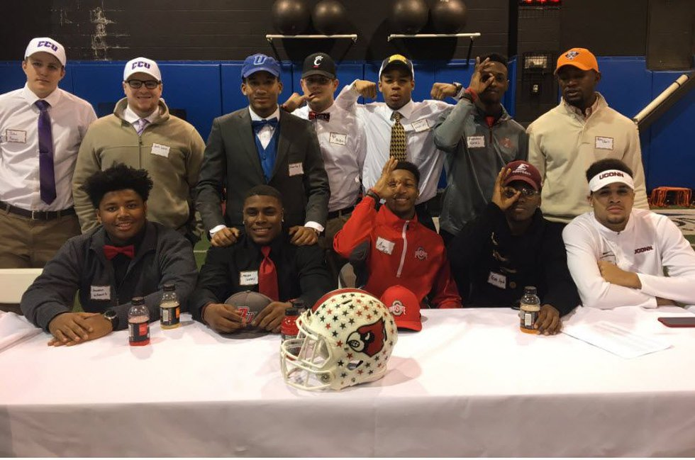 Fifteen of those athletes will be playing college football next fall. (Photo: FOX19 NOW/Joe...
