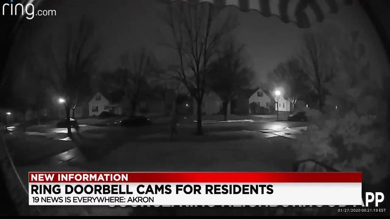 Akron considering paying for and installing ring cameras in neighborhoods with the highest...