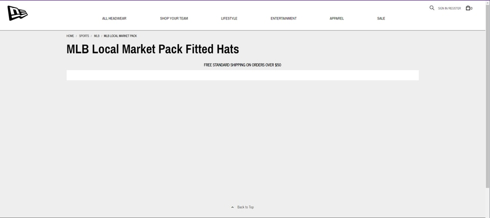 """The """"Local Market"""" section of the site was unavailable as of 11:45 a.m. Wednesday."""