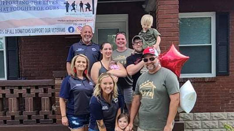 Thanks to a local non-profit, a veteran who proudly served our country now has a new place to...