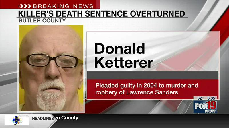 Butler County killer's death sentence overturned